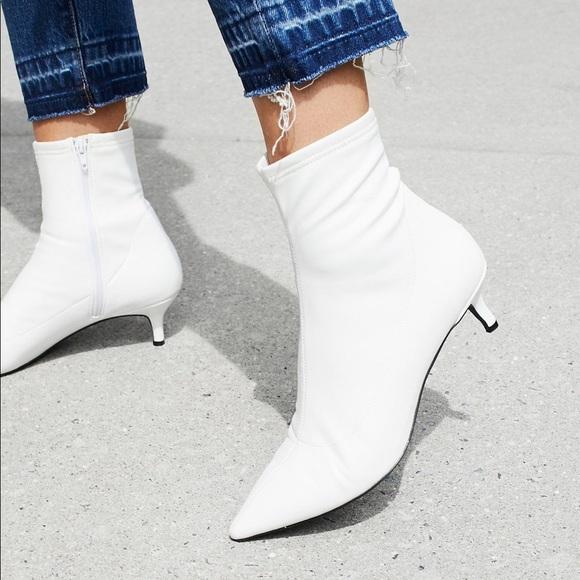 1b19cd0d384 Free People Marilyn Kitten Heel Boot White 37
